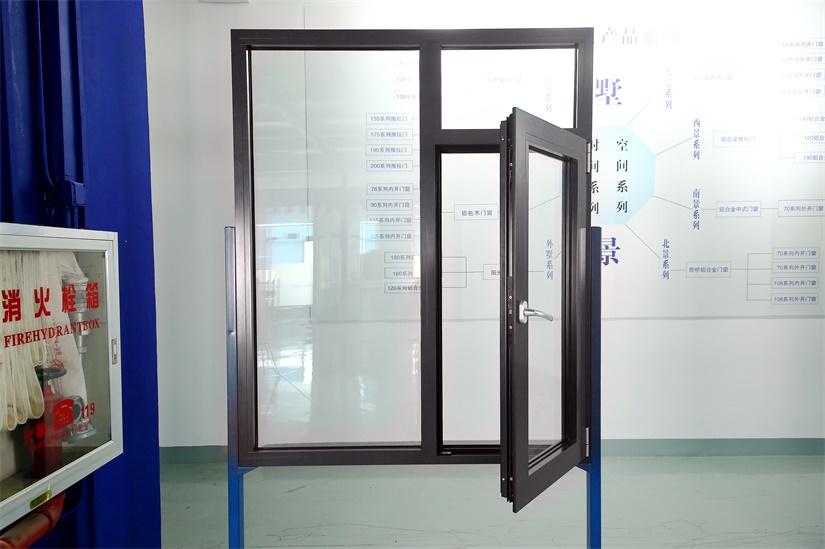 SJ-65系列断桥铝合金内开系统窗