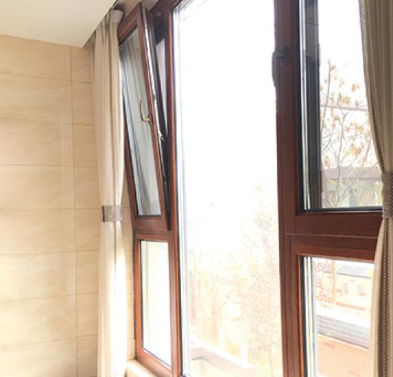 SJ-98铝包木内开窗