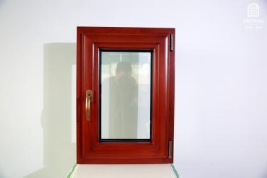 SJ-75铝木复合内开窗